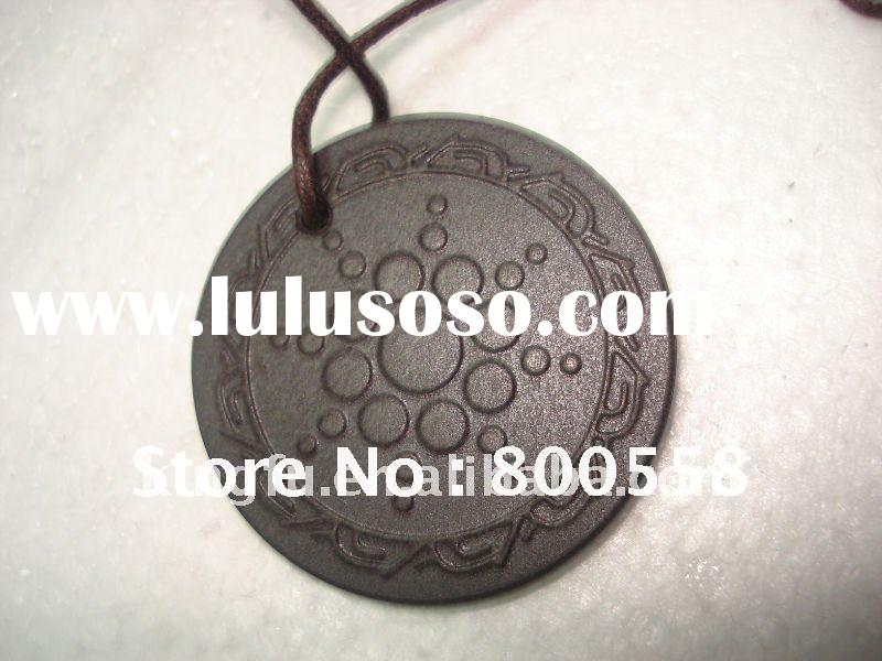 HOT scalar energy stone pendant