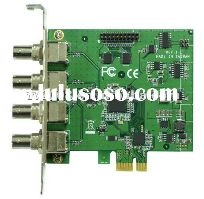 4 Channels HD SDI video capture card