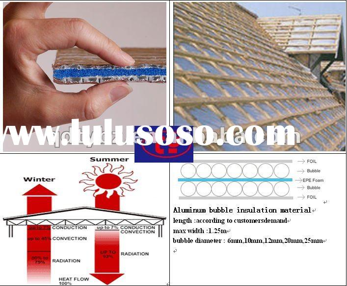Fire-safe foil bubble thermal insulation material