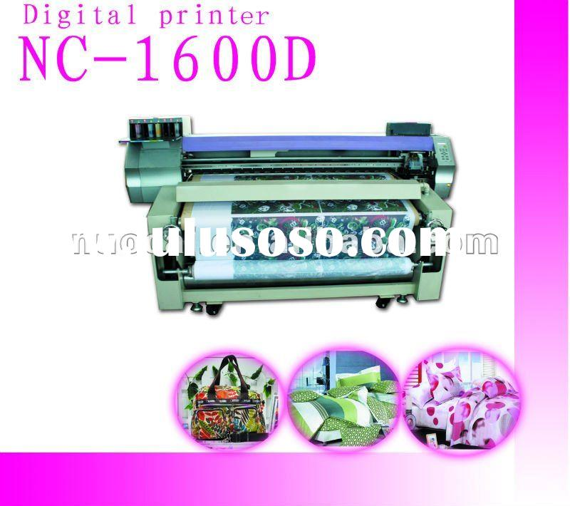 Large Format Digital Textile/Fabric/leather Solvent Printer NC-1600J