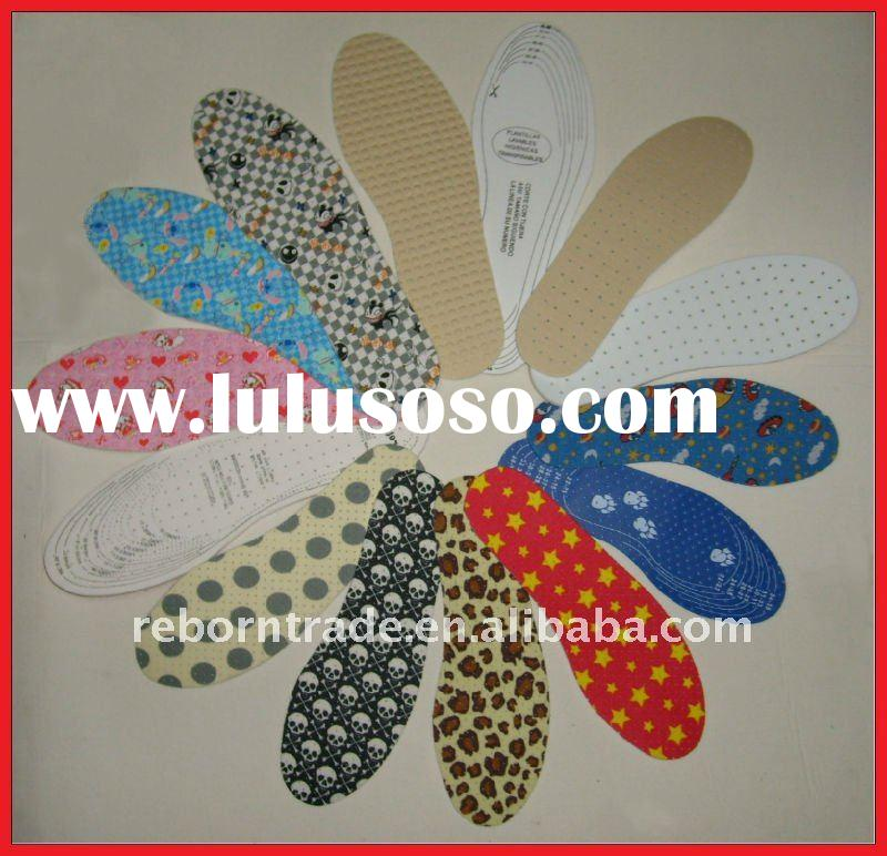 Breathable comfortable latex insole