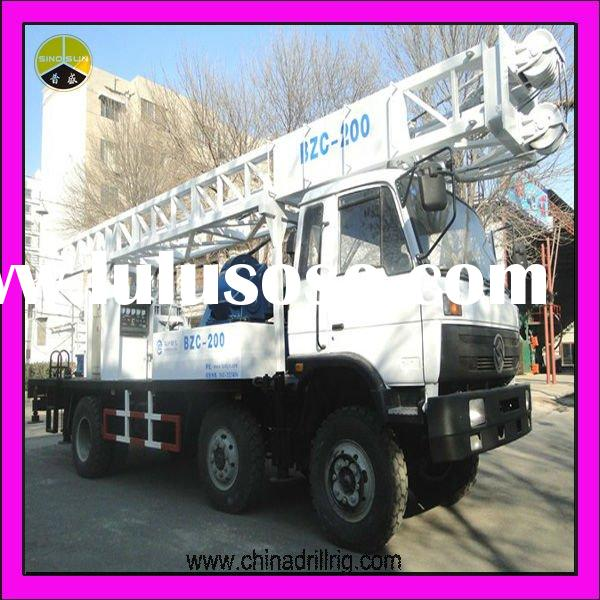 China Best Manufacturer !! High Performance and Hot Sale Water Well Drilling Rig
