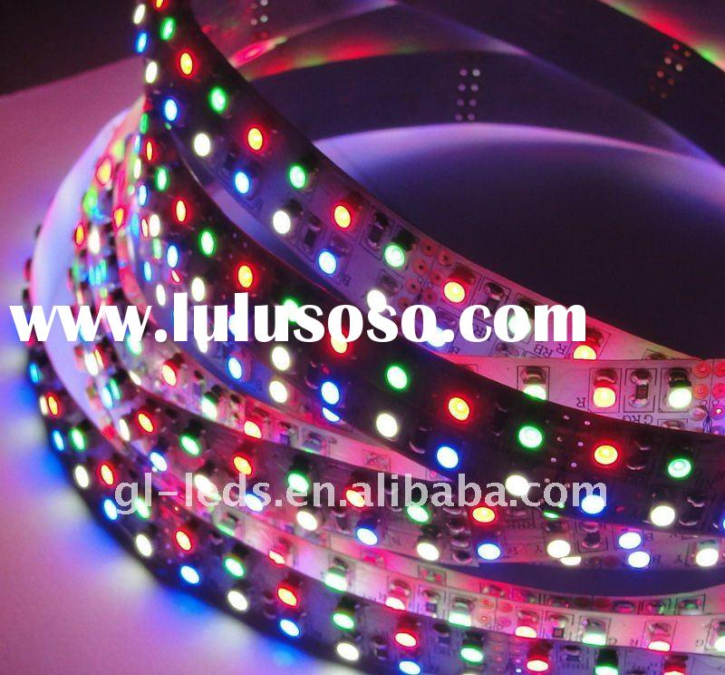 Dual-line RGB LED strip