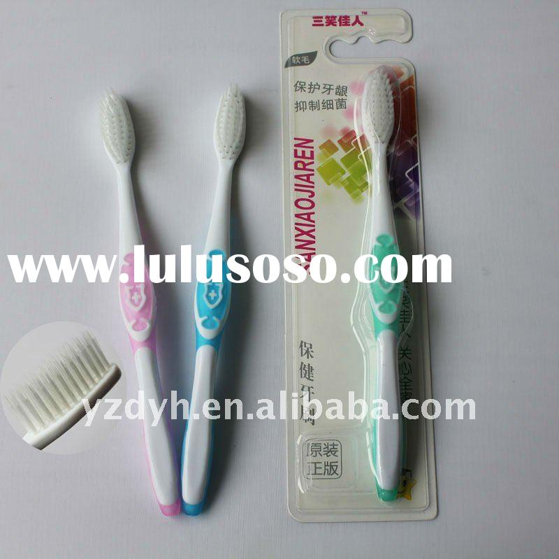 Nylon tongue clearner house hold toothbrush T-9925