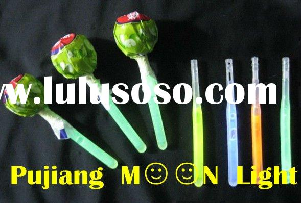 Super Glow, Super Fashionable Glow Stick Lollipop Candy (6*80MM)