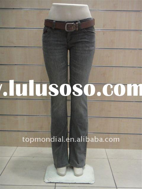 2011 france hot sales small bell-botton Women Request Jeans