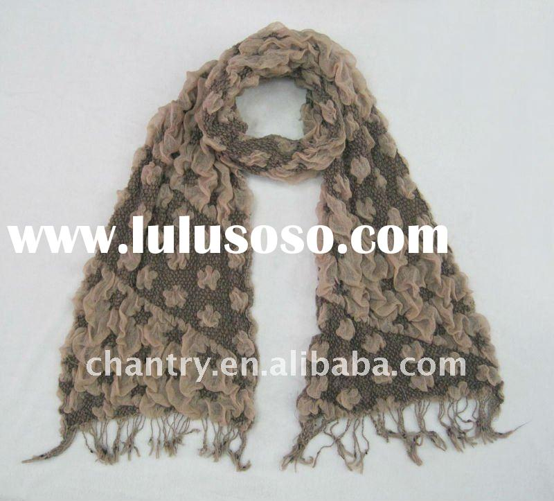 2012 Winter polyester scarf