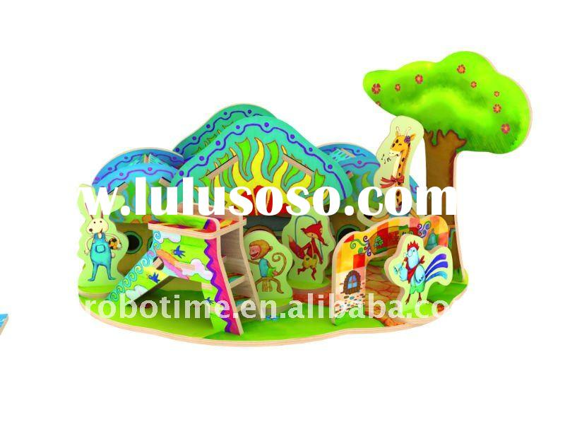 3D jigsaw puzzle toy house