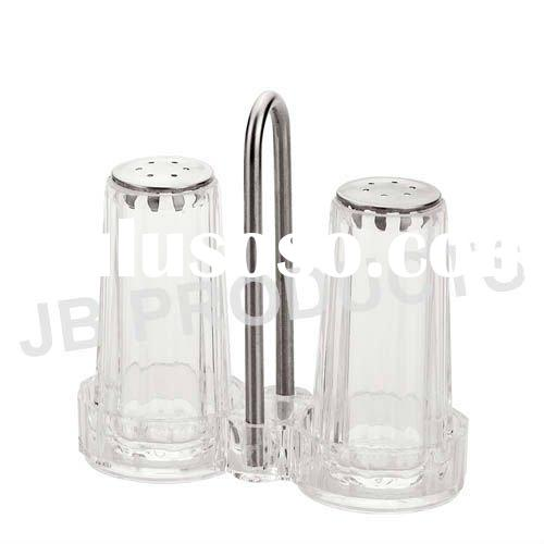 Acrylic salt & pepper shaker