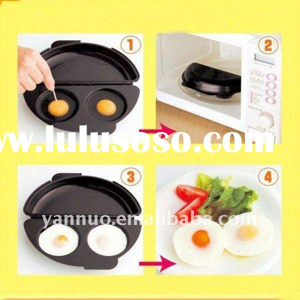 Non-stick double sided egg frying pan