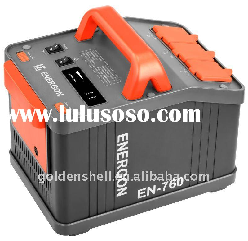 Portable Power Inverter with Rechargeable Battery EN-760