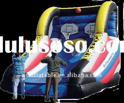 top hotest most popular funny outdoor inflatable sport games