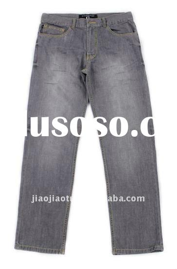 2012 new men jeans wash cotton jeans straight leg jeans12120116#
