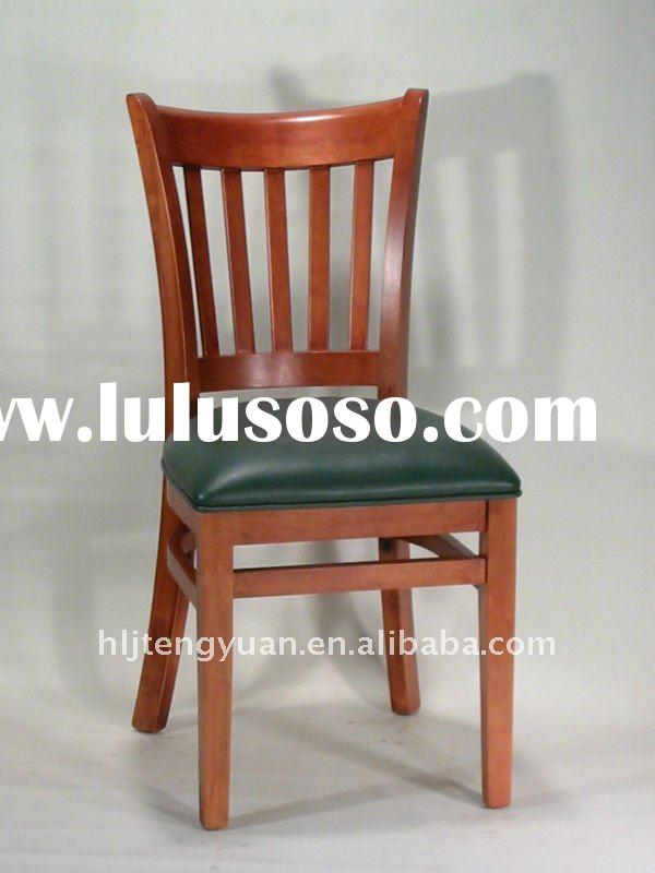242 hotel used solid wood Dining Chair