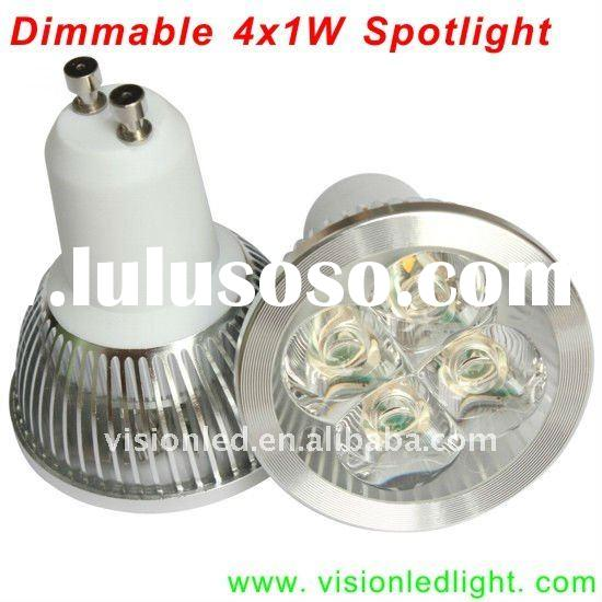 4W GU10 Dimmable High Power LED Spotlight