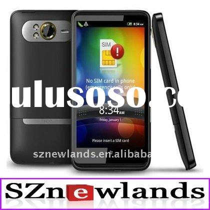 """Cheap China Mobile Phone HD7 Pro MTK6573 Android 2.3 3G GPS Wifi TV 5.0MP 4.3"""" Capacitive Dual"""