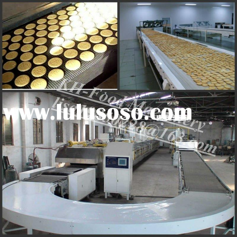 KH-1000 full automatic biscuit production line