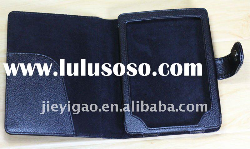 Leather case for Kindle Touch