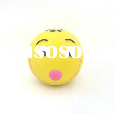 Lovely Smile Face Ball, pet toy. dog toy
