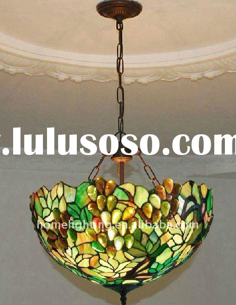 Tiffany Leaded Glass Hanging Chandelier (TFC-5031)