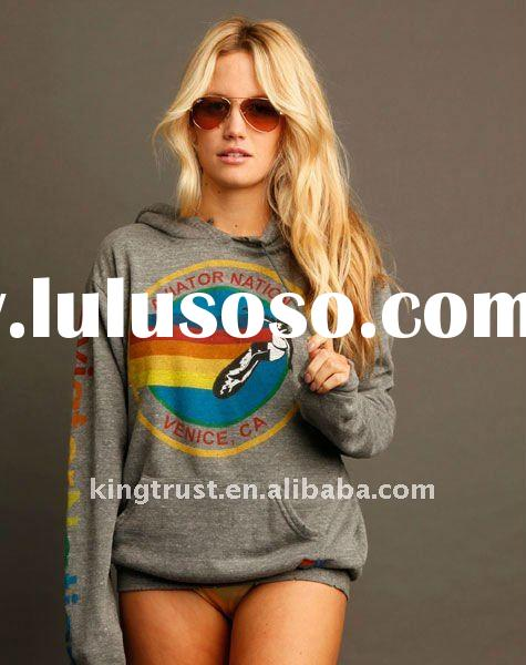 women hoodies sweatshirt with soft printing