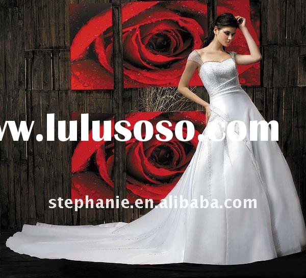 2011 Hot sale wedding gown