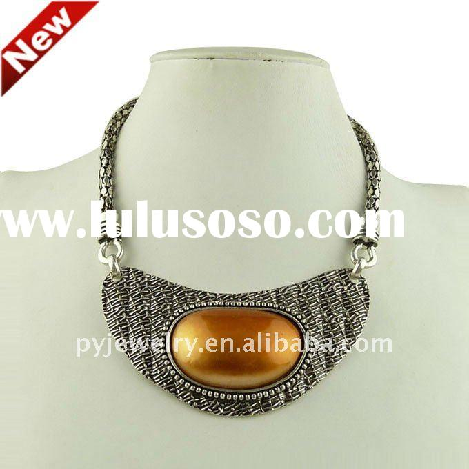 2012 Latest Pearl,Women Collection Necklace,Chunky jewelry