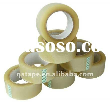 BOPP sealing tape with acrylic adhesive one side, printable, excellent weather resistance