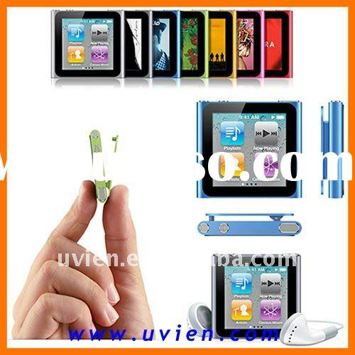 Clip-on MP4 Player with 1.8 inch Multi-touch Screen FM Radio