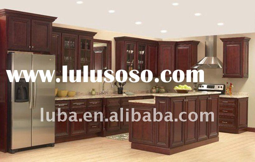 Kitchen Cabinet ( Solid wood, American Style)