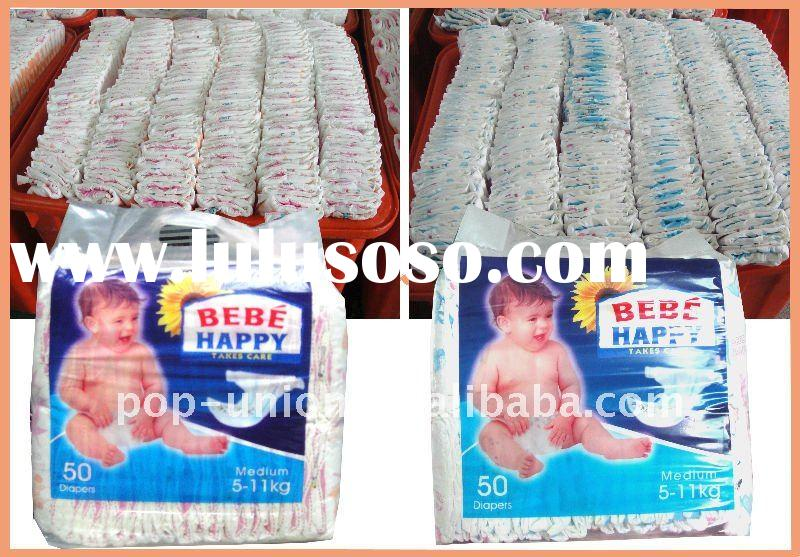 Pure wood pulp with the import SAP baby diaper