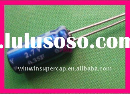 ultra capacitor 2.7volt 0.35farad with best price quality