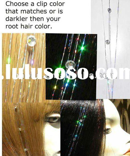 2012 hot christmas products hair crystals(HBC-0002)