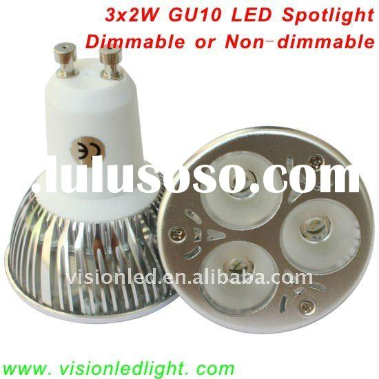 6W Dimmable High Power LED Spotlight