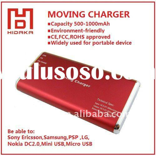 Rechargeable Universal Power bank 500-1000mAh with led display