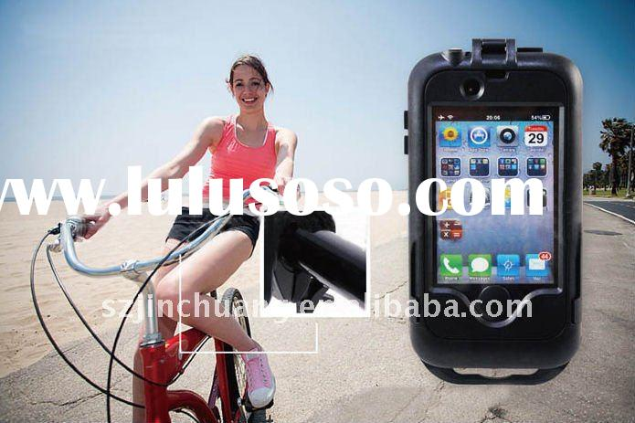 Waterproof phone holder for bicycle for Apple iPhone
