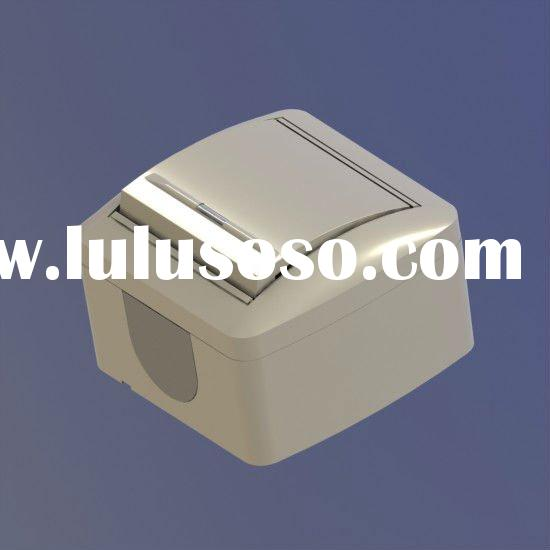 1 gang surface mounted wall switch with LED illuminated