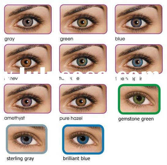 2011 New Arrvial! 3 tone cosmetic eyes color contact lens wholesale!hot sale!