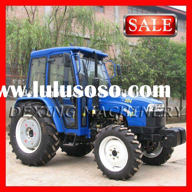 Economic 50Hp 4WD Wheel Tractors with good quality
