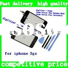 For iPhone 3GS LCD Touch Screen Glass Digitizer Assembly