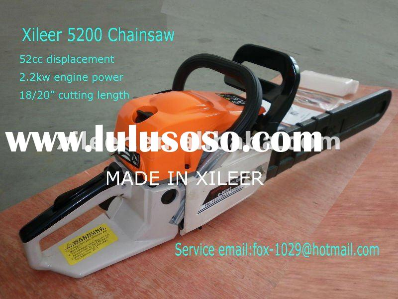 Good 52cc chainsaw 20inch guide bar