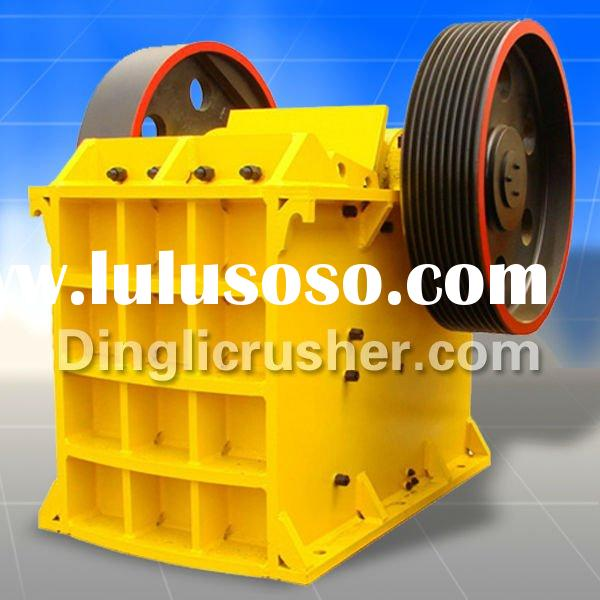High Efficiency Jaw Crusher with International ISO9001:2008 Authentication