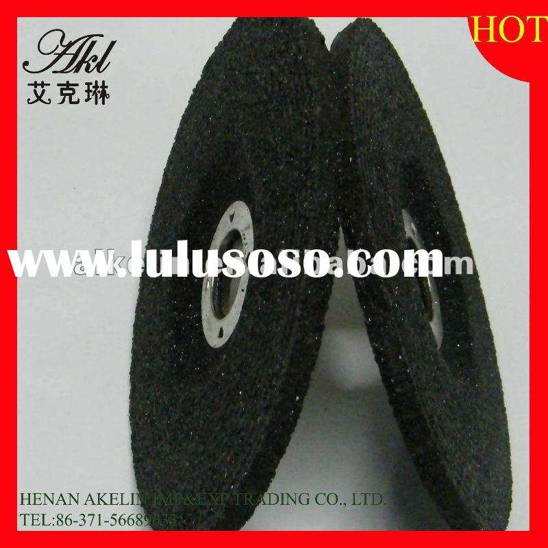 15200R.P.M 100*6*16mm Abrasive fine depressed center grinding wheel with resin for grinding and cutt