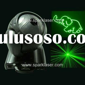 80~200mW 532nm Green Moving Head Laser Stage Light