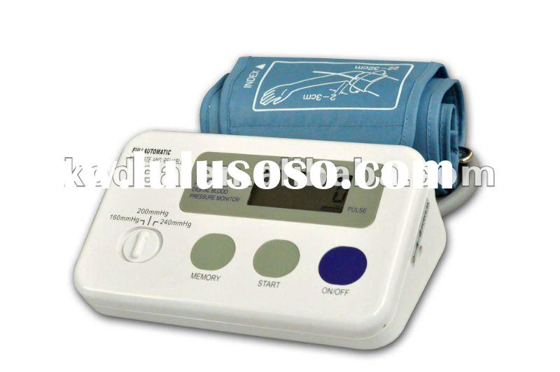 Economic Arm blood pressure meter, home use, reliable results