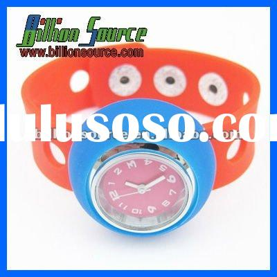 New arrive silicone adjustable band watch