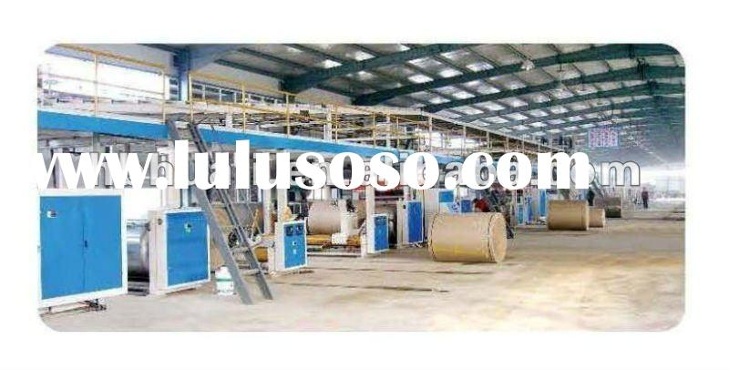 WJ-200-2200 type seven-layer high speed Corrugated paperboard production line