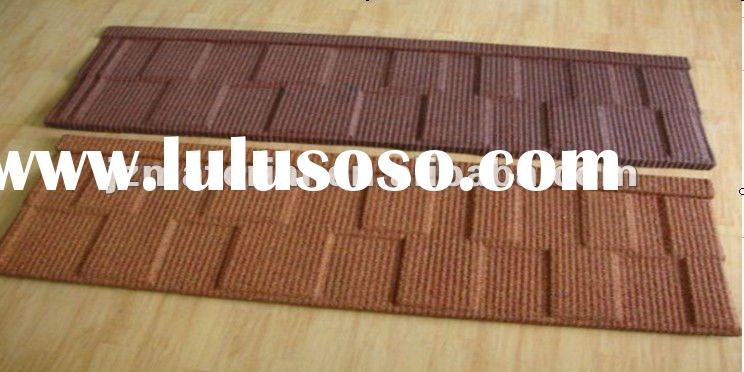anti-corrosion color stone coated metal corrugated roofing sheet