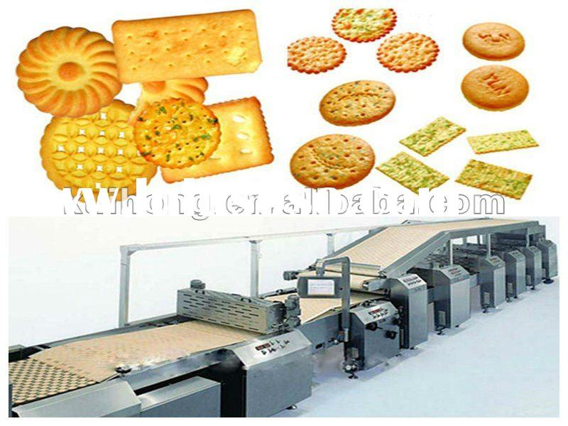 Full Automatic Hard & Soft Biscuit Making Machine
