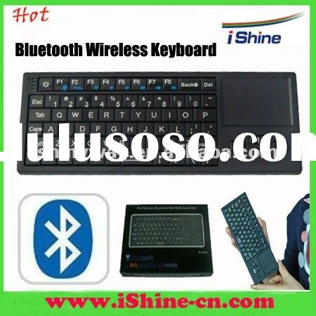 Mini Bluetooth Wireless Keyboard with Multi-touch Mouse Pad